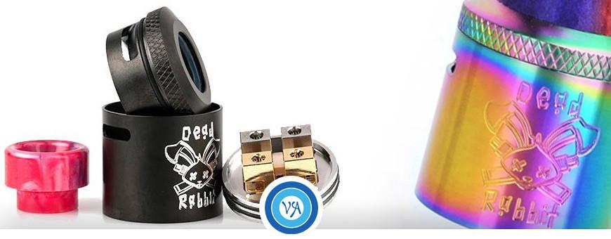 Atomizadores RDA para cigarrillos electrónicos | VapeAragón