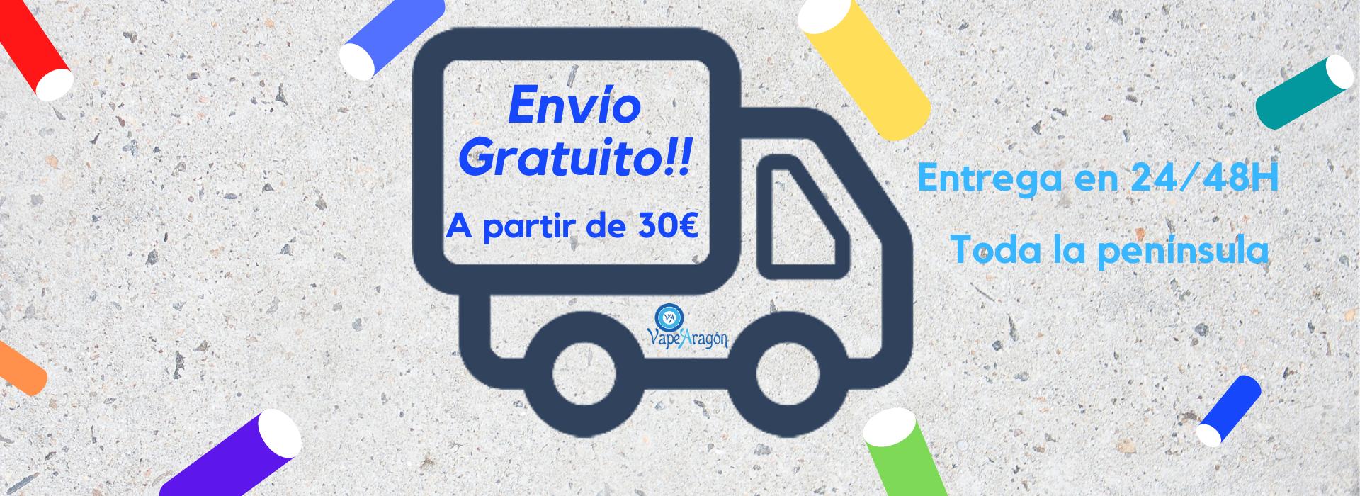 Envio Gratuito 30€